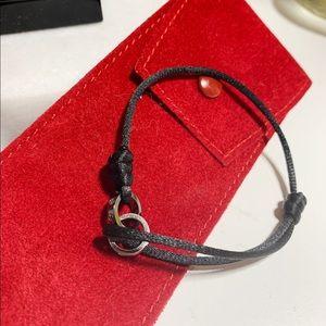Cartier LOVE string diamond bracelet with gold